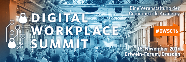 Digital Workplace Summit by Communardo