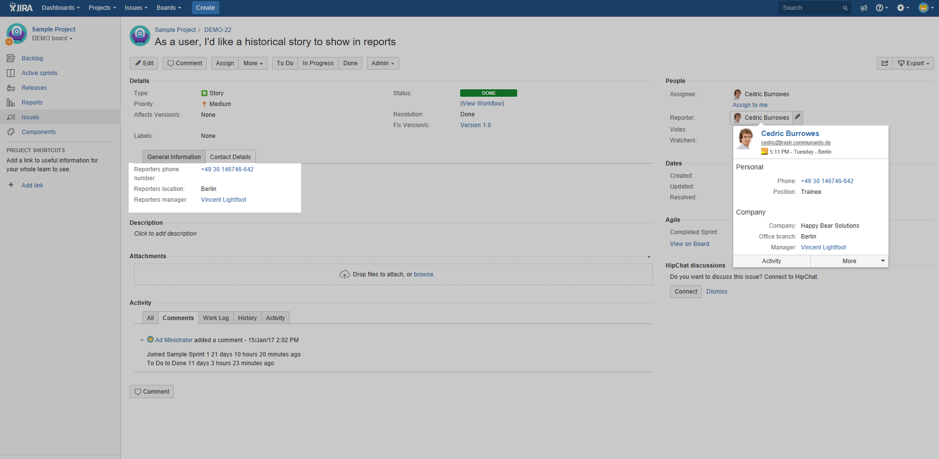 Creating email signatures in JIRA with the new User Profiles for ...