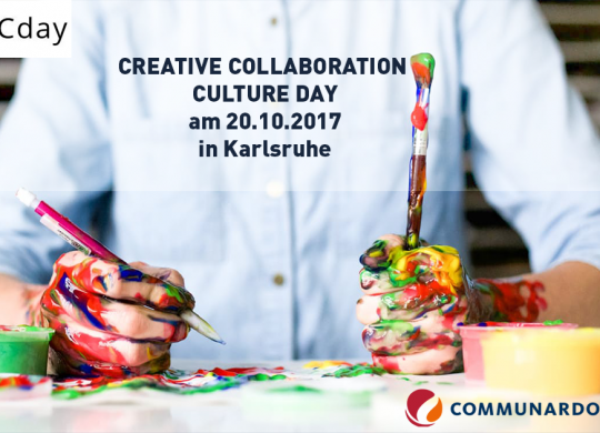 CREATIVE COLLABORATION CULTURE DAY am 20.10.2017 in Karlsruhe