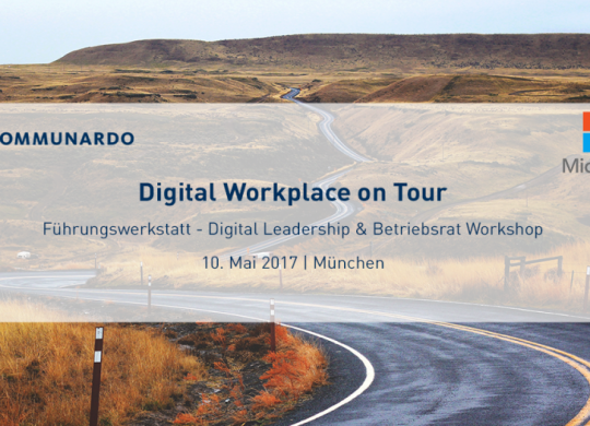 Digital Workplace on Tour in München