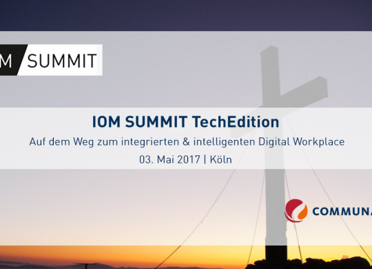 IOM Summit_Digital Workplace