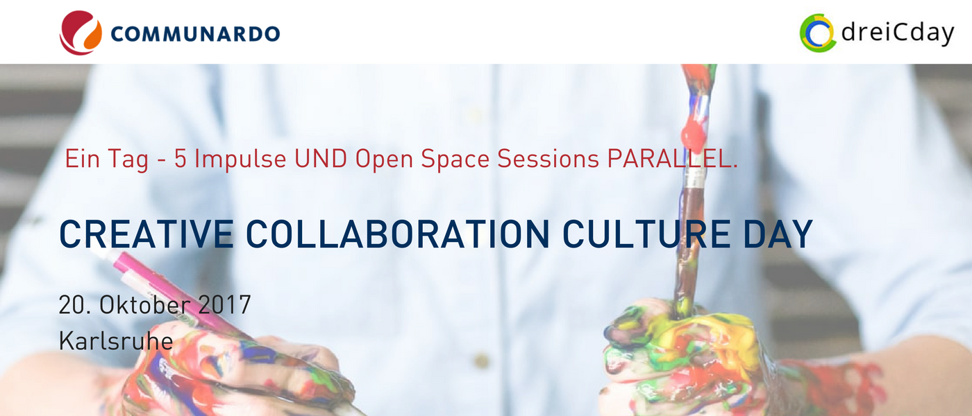 Communardo beim Creative Collaboration Culture Day
