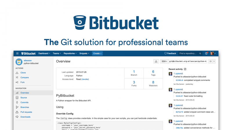Bitbucket - The Git Solution for professional teams