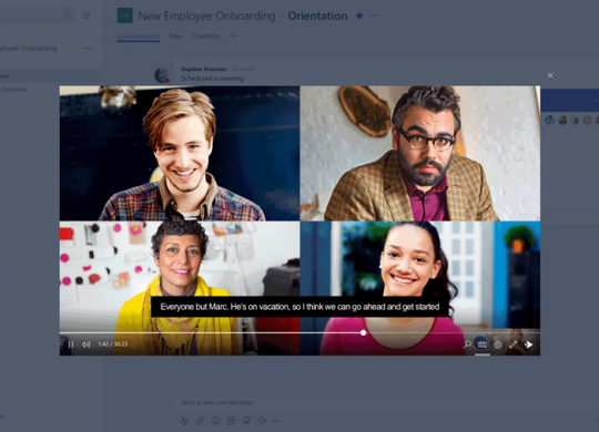 Skype for Business integriert in Microsoft Teams