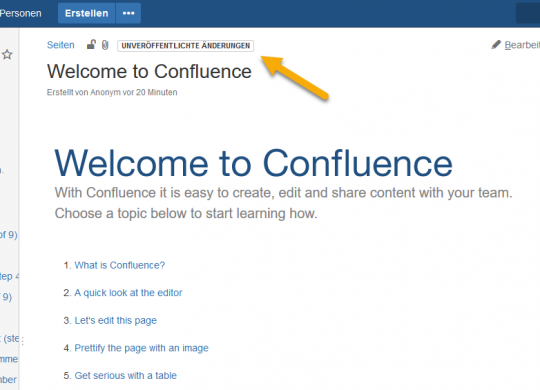 Confluence 6.4 - Change Label