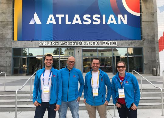 Atlassian US Summit 2017 Team