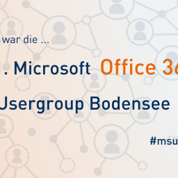 1. Office 365 Usergroup Bodensee