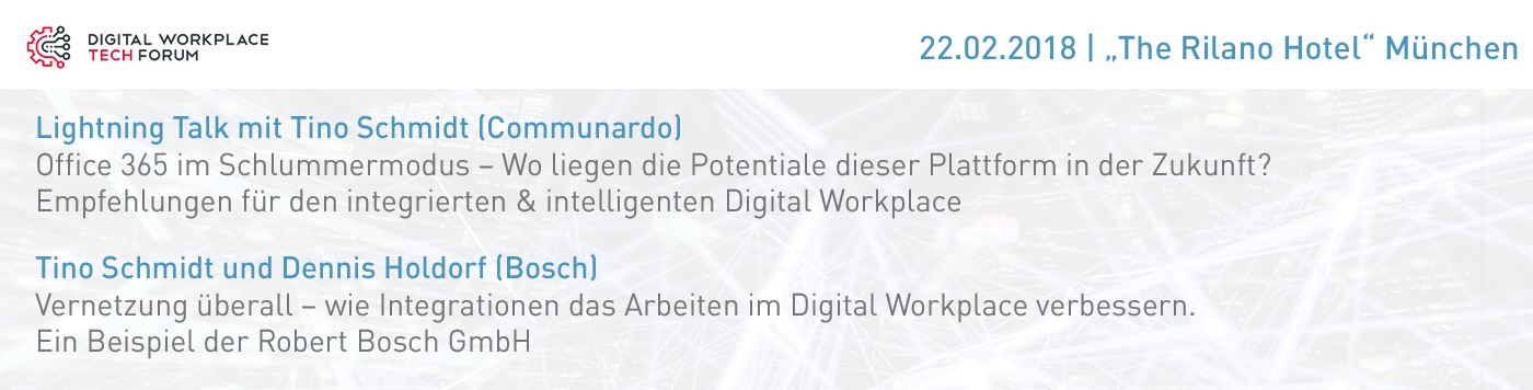 Digital Workpalce Tech FORUM