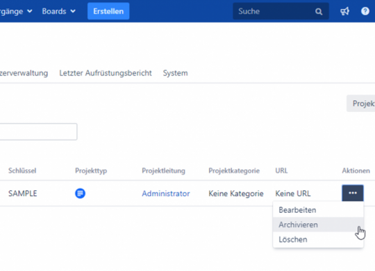 jira-data-center-projekt-archivieren-Vorschau