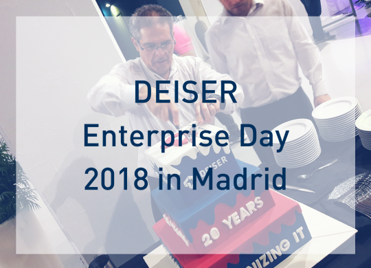DEISER Enterprise Day 2018 in Madrid