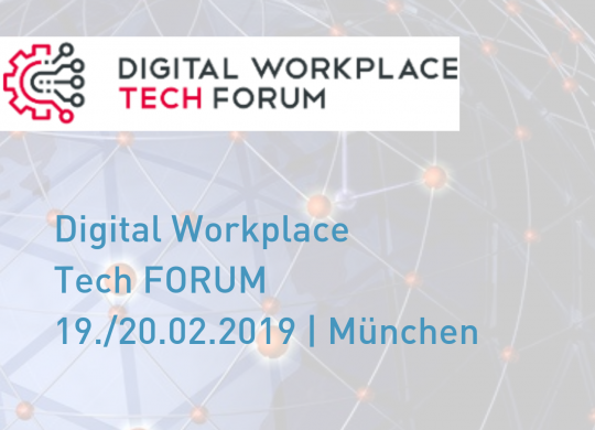 Digital Workplace Tech FORUM - Vorschaubild2