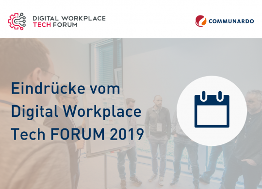 Digital Workplace Tech FORUM 2019_Vorschaubild