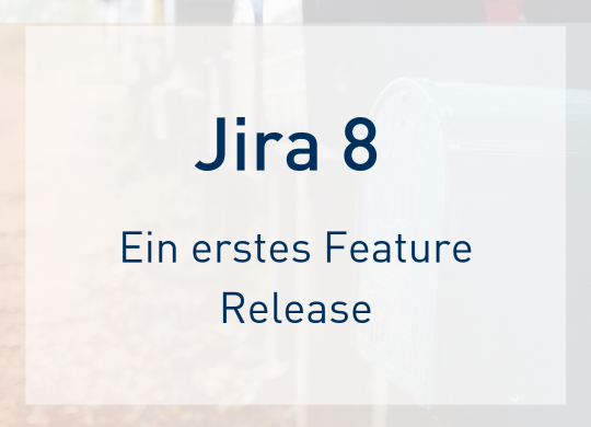 Jira 8 Feature Release