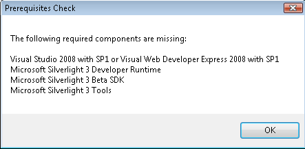 incompatible versions