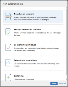 JIRA Service Desk 2.4 Automation
