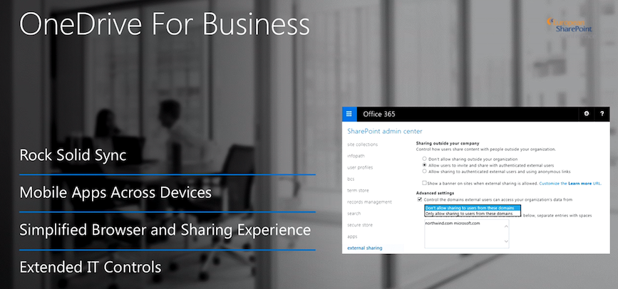 OneDrive for Business neue Features