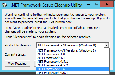 cleanup .net